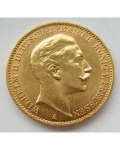 Duitsland (Pruissen), 20 mark 1911