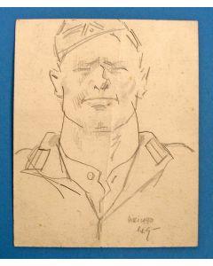 Willy Sluiter, Duitse soldaat, 1940