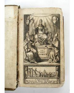 [Pompilio Totti] 'Afbeeldinge van 't nieu Romen' met 82 prenten, 1661.