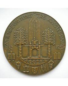 Jaarpenning VPK 1932 (#1), Athenaeum Illustre, Amsterdam [Bertus Sondaar]