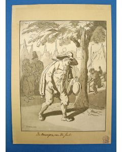 C. Ploos van Amstel, aquatint naar Cornelis Dusart, 1776