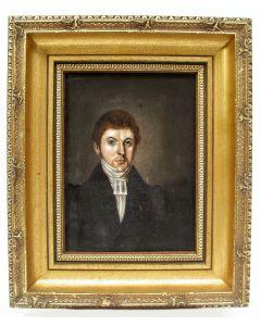 Portret van een predikant, ca. 1820