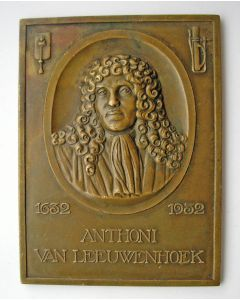 Plaquettepenning, Anthony van Leeuwenhoek 1632-1932
