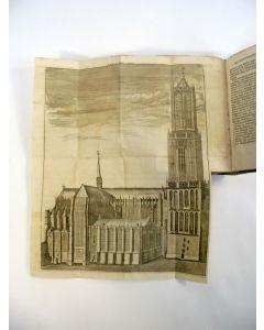 V.J. Blondeel. Beschryving der stad Utrecht, 1757, met platen