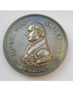 Zilveren penning, Mr. Th. van Swinderen, Groningen