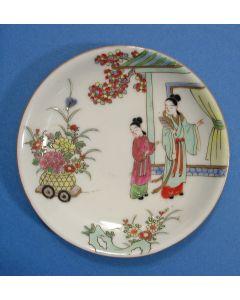 Famille rose schotel, YongZheng periode, 18e eeuw