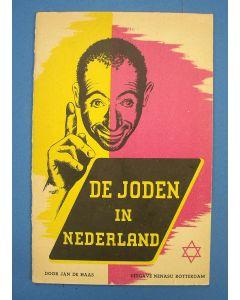 'De joden in Nederland', antisemitische brochure, uitgave NeNaSu, 1941