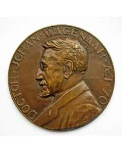 Jaarpenning VPK 1932 (#2), Dr. Johan Wagenaar [Gra Rueb]