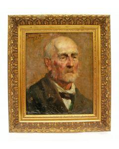 Tony van Alphen, portret van een heer, 1900