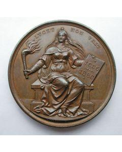 Penning, 250 jaar Universiteit Utrecht, 1886