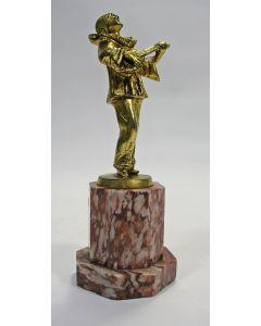 Bronzen pierrot, Art Deco periode.