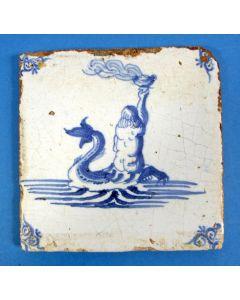 Tegel, zeewezen, 18e eeuw
