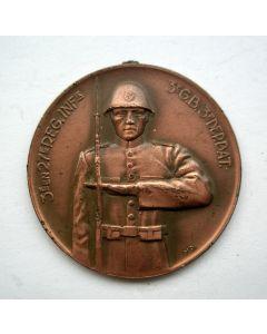 Penning ter herdenking van de gesneuvelde militairen van het 3e en 27e Regiment Infanterie, 3e Grensbataljon en 3e Depotbataljon, 1940