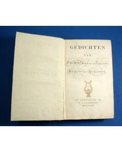 Gedichten van P.H.A.J. Strick van Linschoten – Vrijheer van Heekendorp. Te Amsteldam, bij  P.J.Uylenbroek, 1808.
