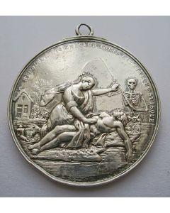 Beloningspenning van de Amsterdamse Maatschappij tot Redding van Drenkelingen, 1900 [1767]