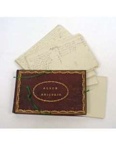 Album Amicorum van Alard Cornelis Boonzajer, periode 1802-1805