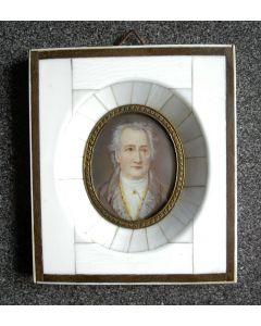 Portretminiatuur, Goethe
