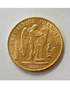 Frankrijk, 20 francs goud, 1897