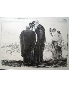 Piet van der Hem, 'El rey', litho, 1914