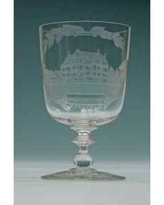 Gegraveerd glas, Museum Boymans Rotterdam, 19e eeuw