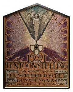 Jan Schonk, afficheontwerp, 1921