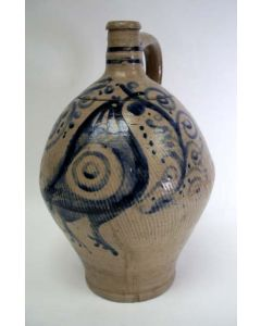 Rijnlands aardewerk kruik, ca. 1800